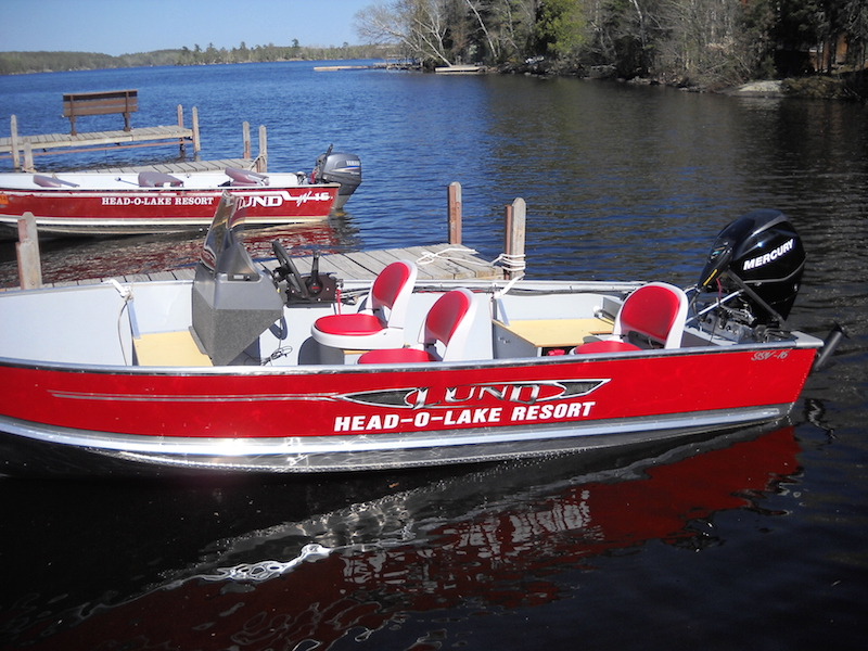 16ft Lund SSV with 30hp 4 stroke Mercury EFI