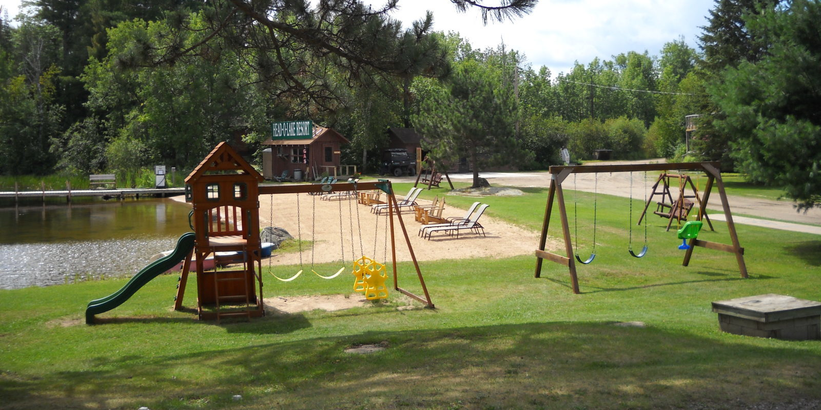 Playground and Beach