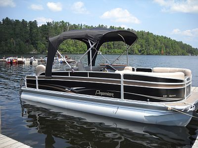 22ft Premier Gemini Pontoon with 90hp Yamaha 4-stroke